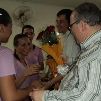 Visita do Dilben à Missão de Belém