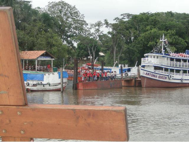 """""""Nosso rio é nossa rua"""": cruz da JMJ chega às comunidades ribeirinhas do Pará"""