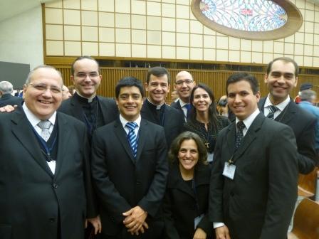 Mar a Dentro no XVI Congresso da Catholic Fraternity em Roma