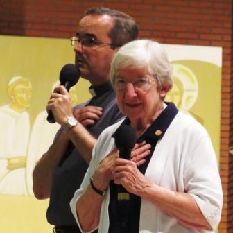 Noite de Cura e libertação em São Paulo com Ir Ann Shields