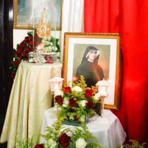 Visita da relíquia de Santa Faustina à Missão de Belém