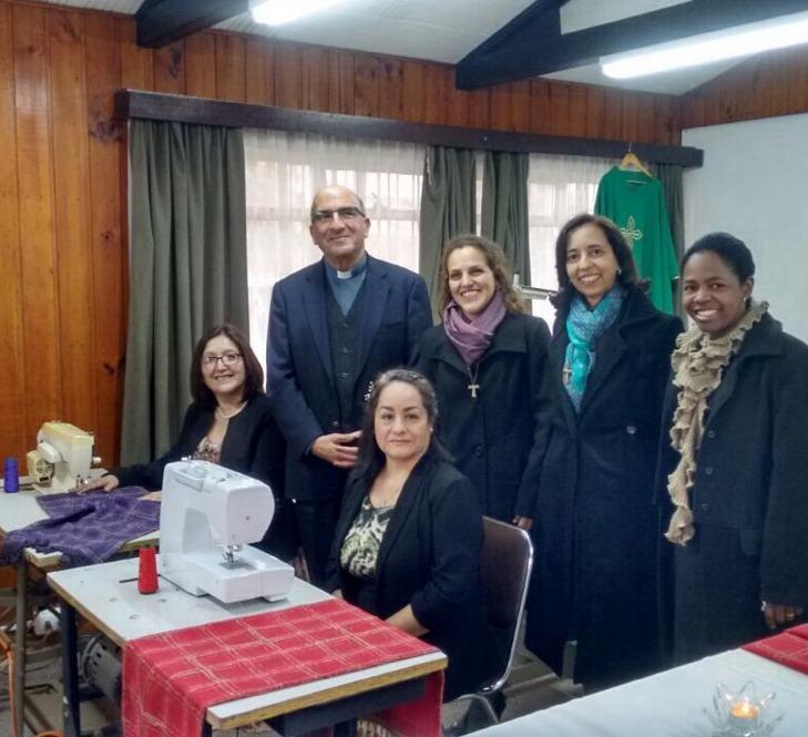 Inauguração da Fábrica de paramentos litúrgicos no Chile