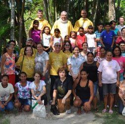 As populações ribeirinhas das ilhas de Belém também foram alcançadas pela programação do 17º CEN